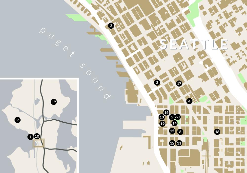 Goodman Impact Projects Map
