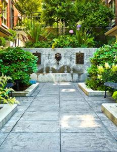 Harvard Estate Garden Grounds