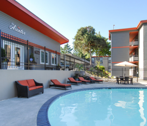 The Aviator Apartments Pool