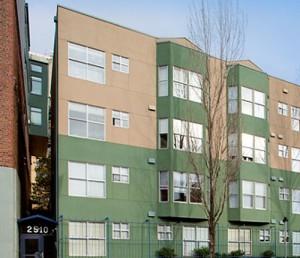 Ellis Court Apartments Exterior