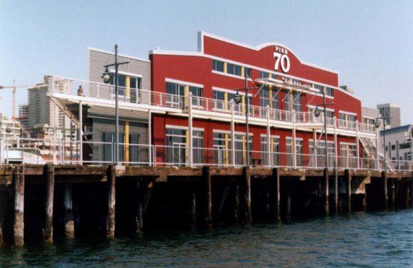 Pier 70 Exterior Daytime