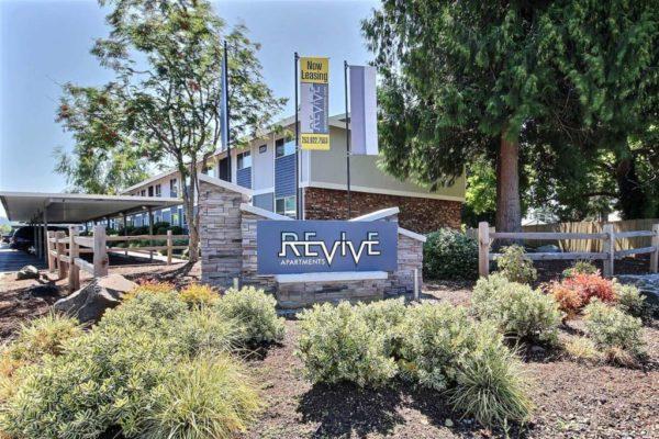 Revive Apartments Signage