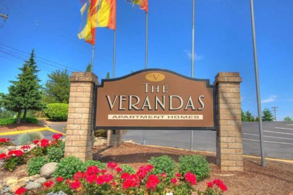 The Verandas Apartments Signage