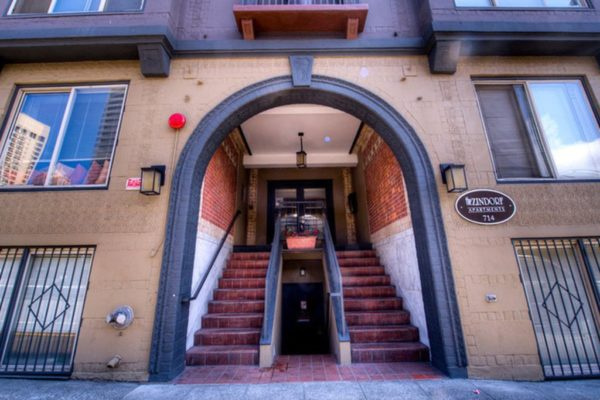 Zindorf Apartments Front Entrance