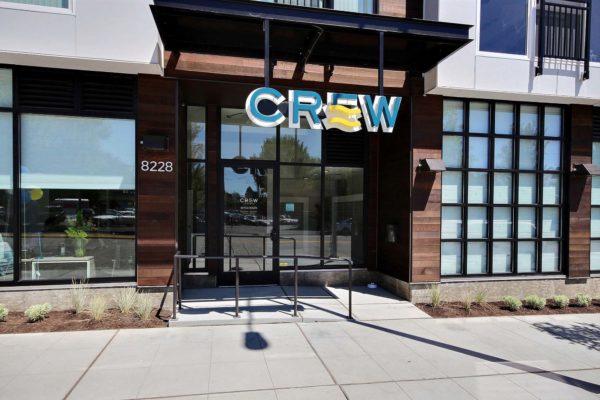 Crew Entrance Exterior